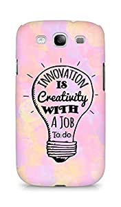 Amez Innovation is Creativity with a Job to do Back Cover For Samsung Galaxy S3 Neo