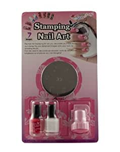 Konad Stamping Nail Art Kit Set D