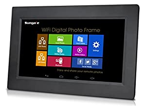 Sungale AD1021W 10-Inch Wi-Fi Digital Photo Frame (Black)