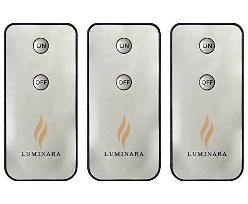 Luminara LED Flameless Candle Remote Control (3-Pack) (Luminara Candles Remote compare prices)