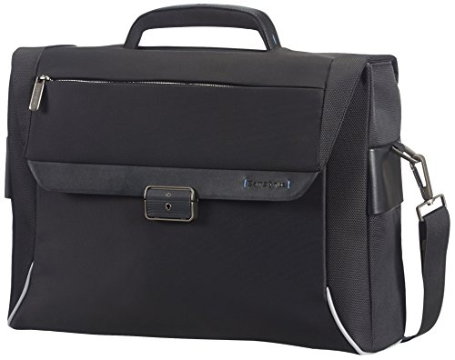 "Samsonite Cartella Spectrolite Slim Bailhandle 16"" 14.5 liters Nero (Black) 55690-1041"