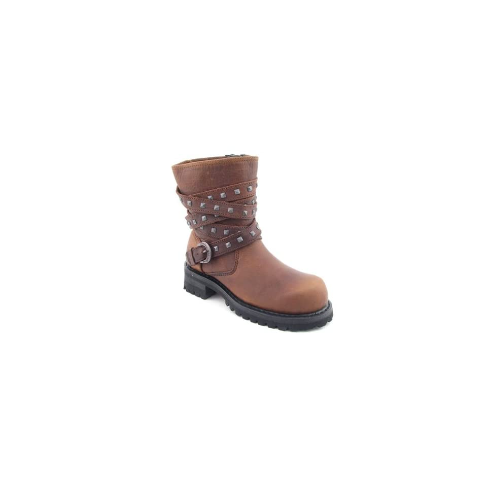 HARLEY DAVIDSON Fiona Brown Boots Shoes Womens 7.5 Shoes