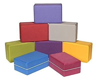 Yogaklotz / Yoga Block high density XXL, 23 x 15 x 10 cm Schadstoffgeprüft - recycelbar - abwaschbar Material: EVA-Schaum (Ethylene-Vinyl-Acetat)