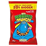 Mega Monster Munch Flamin' Hot Flavour Baked Corn Snack 48g x Case of 30