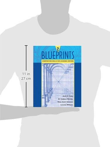 Blueprints 2: Composition Skills for Academic Writing: Bk. 2