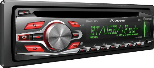 Pioneer Deh6400bt Cd Player With Am Fm Tuner Built In