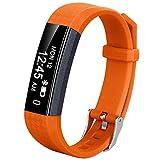 Coch Fitness Tracker, IP67 Waterproof Activity Tracker Watch,Sleep Monitor,Smart Fitness Band,Bluetooth Step Counter Kids Women Men