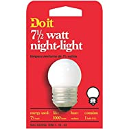 GE Private Label 18329 Do it 7-1/2W Night-Light Bulb-7-1/2W NIGHT LIGHT BULB