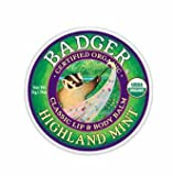 Badger Lip & Body Balm, Highland Mint - .75 oz