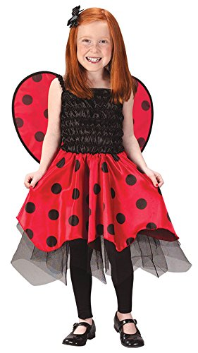 Baby Girls - Ladybug Toddler Costume 3T To 4T Halloween Costume