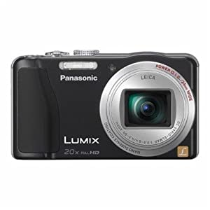 Panasonic LUMIX DMC-ZS19 Digital Camera- Black from Panasonic