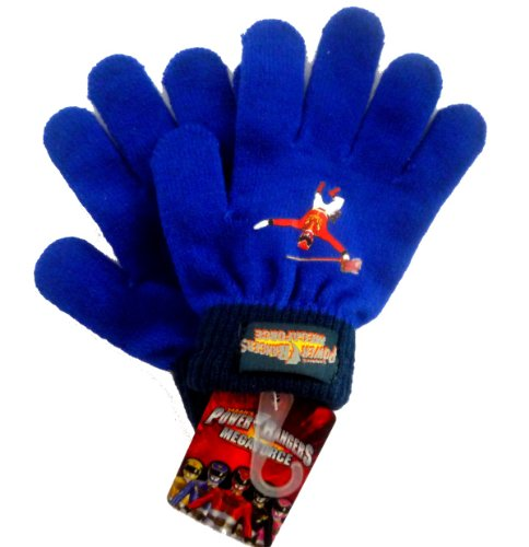 Official Licensed GENUINE Power Rangers MEGAFORCE Mittens Gloves - Licensed power Rangers Merchandise