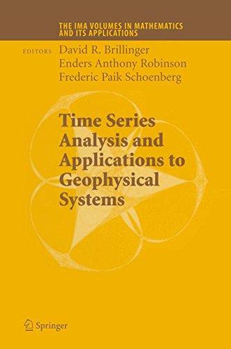 时间序列分析与地球物理系统中的应用: 第一部分 (在数学及其应用的 IMA 卷)