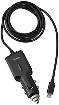 AmazonBasics Apple Certified Lightning Car Charger for iPhone, iPad and iPod – 5 Feet (1.5 Meters)