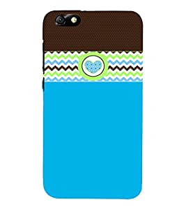 Cute Wall Art Fashion 3D Hard Polycarbonate Designer Back Case Cover for Huawei Honor 4X :: Huawei Glory Play 4X