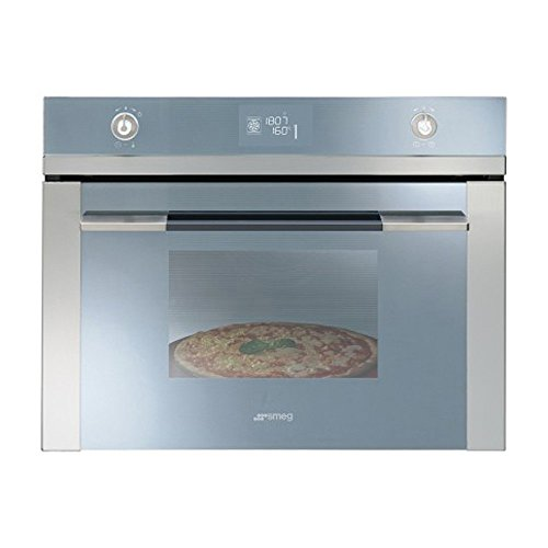 Smeg Linea SFP4120PZ Built In Oven Electric Pyrolitic Stainless Steel