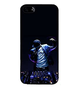 printtech Disco DJ Music Back Case Cover for Apple iPhone 5S