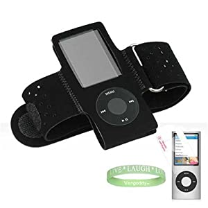 Apple iPod nano (5th Generation) NEWEST MODEL Premium Accessory Kit