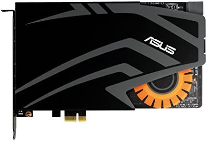 ASUSTek STRIXサウンドカード ゲーミングオーディオ 600Ωヘッドホンアンプ搭載 STRIX RAID DLX