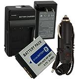 Battery+Charger for Sony DSC-T1 DSC-T3 DSC-T5 DSC-T9 DSC-T10 DSC-T700 NP-BD1 FD1