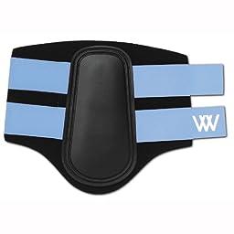WOOF WEAR Sport Brushing Boots - Size:XLarge Color:Black/Lt Blue