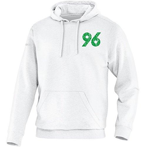 Jako-Felpa con cappuccio Hannover 96Replika 2016/2017bianco bambini (bianco), bianco
