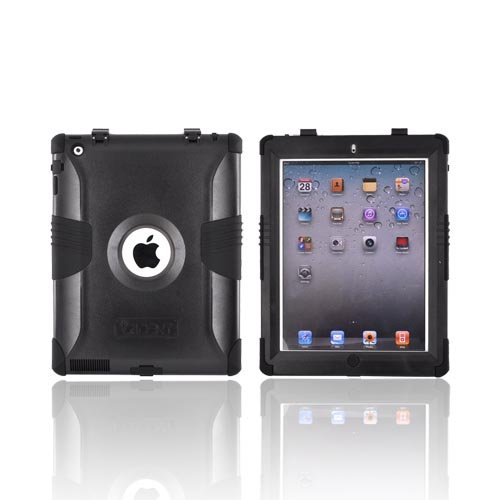 Black OEM Trident Kraken Hard Silicone Case Screen Protector, KKK2-IPAD-2-BK For Apple iPad 2