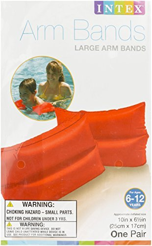 "Intex - Kids Swim Arm Bands Large - 10"" X 6.5"" (25cm x 17cm)"