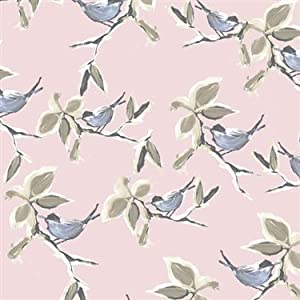 Dwell Pattern Wallpaper, Pink R2316 - - Amazon.com