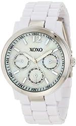 XOXO Women's XO5517 White Bracelet with Silver Case Watch