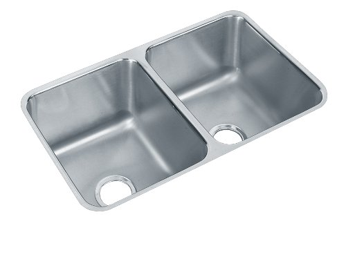 Best Buy On Elkay ELUH311810 Gourmet Lustertone Undermount Sink