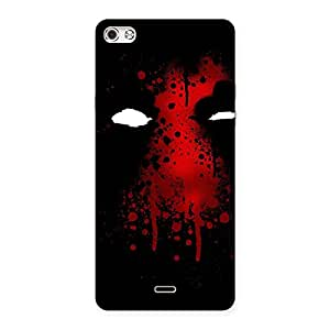 Special Horror Red Back Case Cover for Micromax Canvas Silver 5
