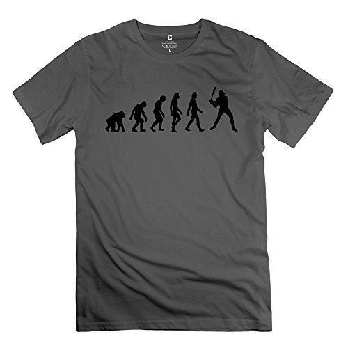 Zhitian Men'S Evolution Baseball T-Shirt - S Deepheather