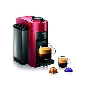 Nespresso GCC1-US-RE-NE VertuoLine Evoluo Coffee and Espresso Maker, Red by Nespresso