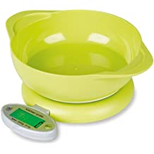 VelKro Lonch Digital Electronic Kitchen Weighing Scale 5Kg Weight Measure Liquids Flour Etc With Bowl