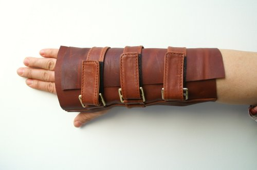 bane-mens-wrist-guard-leather-brace-gloves-right-hand-gauntlet-cosplay-costumecoslive