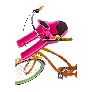 iBert Safe-T-Seat with New Wheel Fun Comfy Front Babyseat in Pink