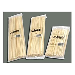 Winco 12-Inch Bamboo Skewers by Winco