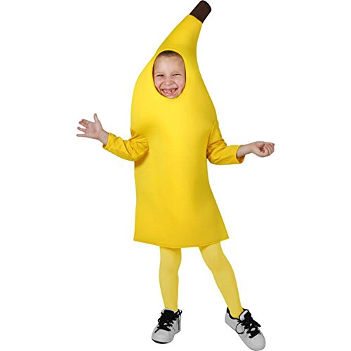 Child's Deluxe Banana Halloween Costume (Size: Large 10-12)