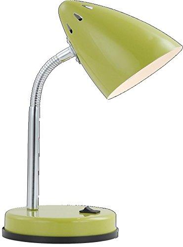 Tischleuchte-klassische-Tischlampe-Metall-Chrom-beweglich-grn-Globo24853