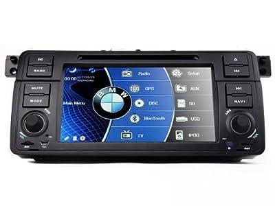 Eonon D5113E 7 Zoll 18cm HD Digital-Touchscreen Bluetooth GPS NAVI Navigation SAT DVD Player KFZ speziell für BMW E46 3er 1999-2004 von Eonon auf Reifen Onlineshop