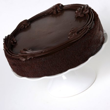 Mothers Day Gift Chocolate Satin Cake