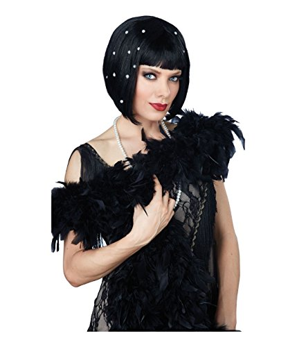 Pearlescent 20s Flapper Cleopatra Style Bob Wig