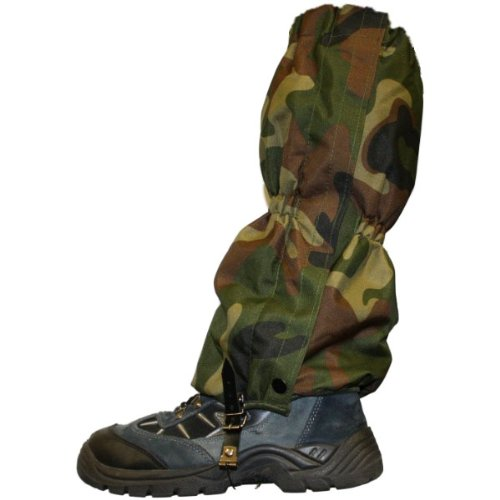 Woodside Military/army Camo Waterproof Walking/hiking Gaiters Camouflage Boot Large Size 8+