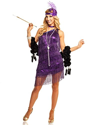 Goddessey Purple Dazzling Flappers