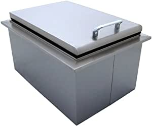 260 series 15 x 24 drop in cooler outdoor for Drop in cooler for outdoor kitchen