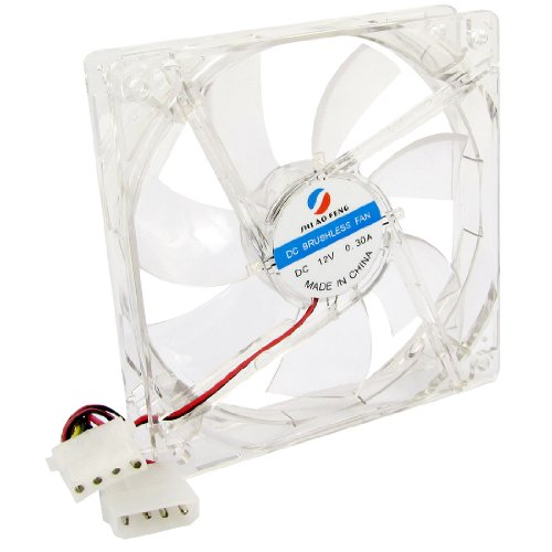 120Mm Dc 12V 4Pin Blue Led Cooling Fan For Computer Case Cpu Cooler