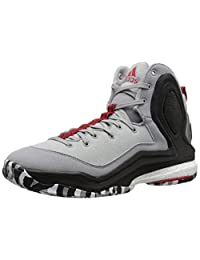 adidas Performance Men's D Rose 5 Boost Basketball Shoe, Light Onix, 9.5 M US