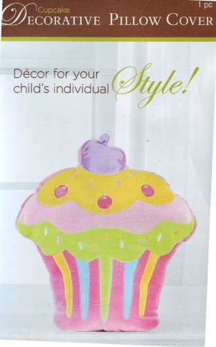 Colorful Cupcake Child'S Pillow Cover Zippered front-478097