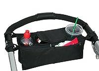 Lalang Pram Storage Bags Baby Stroller Pushchairs Cup Bottle Drinks Food Holder Organizer